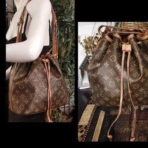 Guaranteed Auth  LOUIS VUITTON Noe Bag